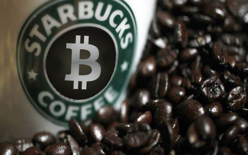 Starbucks: Now pay for your coffee with Bitcoin.