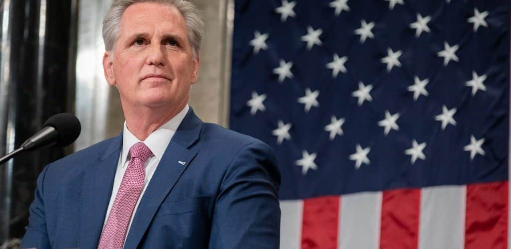 Republican Leader McCarthy Affirms Blockchain Can Bring Transparency In US Government