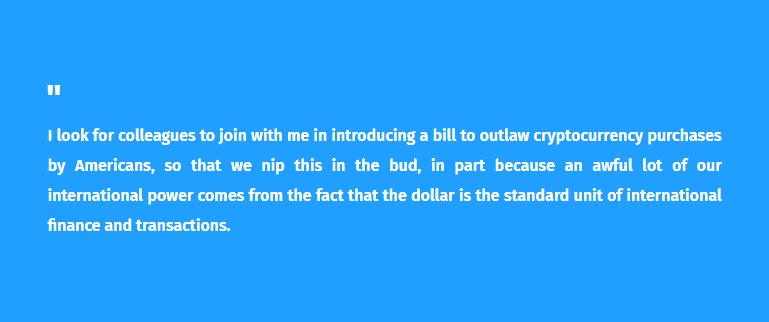 congressman Brand Sherman saying