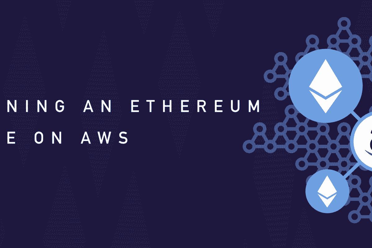 A Fourth Part of Ethereum Nodes Run on Amazon Web Services
