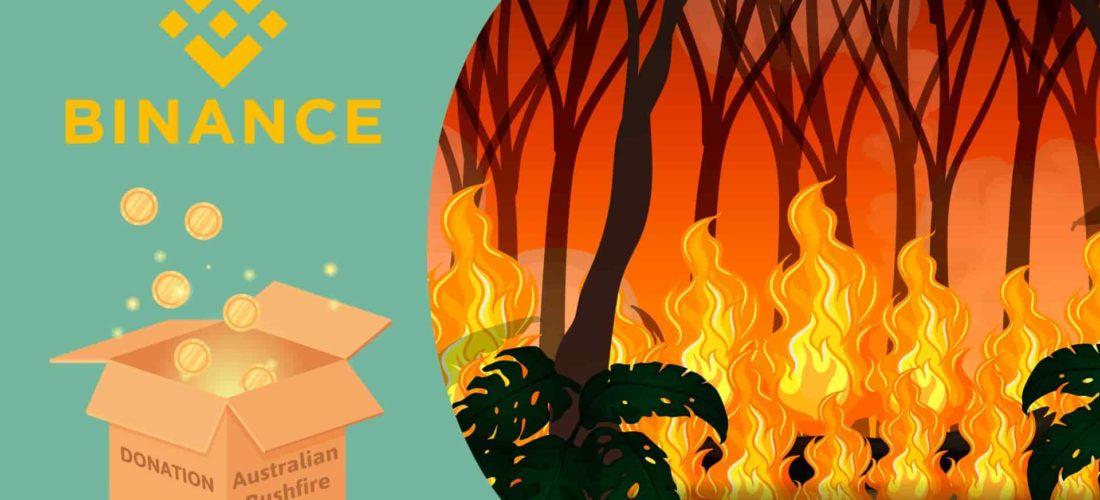 Australia Bushfire Crisis: Binance Contributes $1 Million to Support Relief Efforts