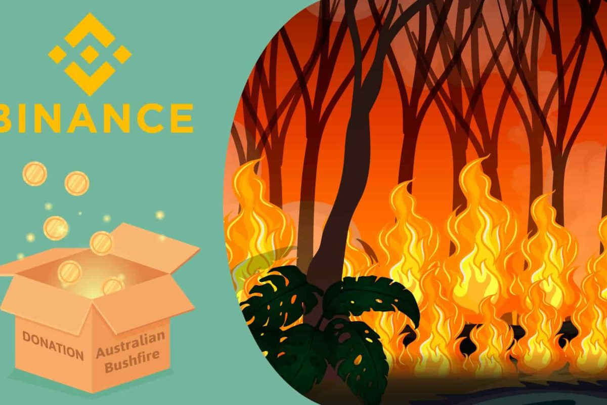 Australia Bushfire Crisis: Binance Contributes $1 Million to Support Relief Efforts