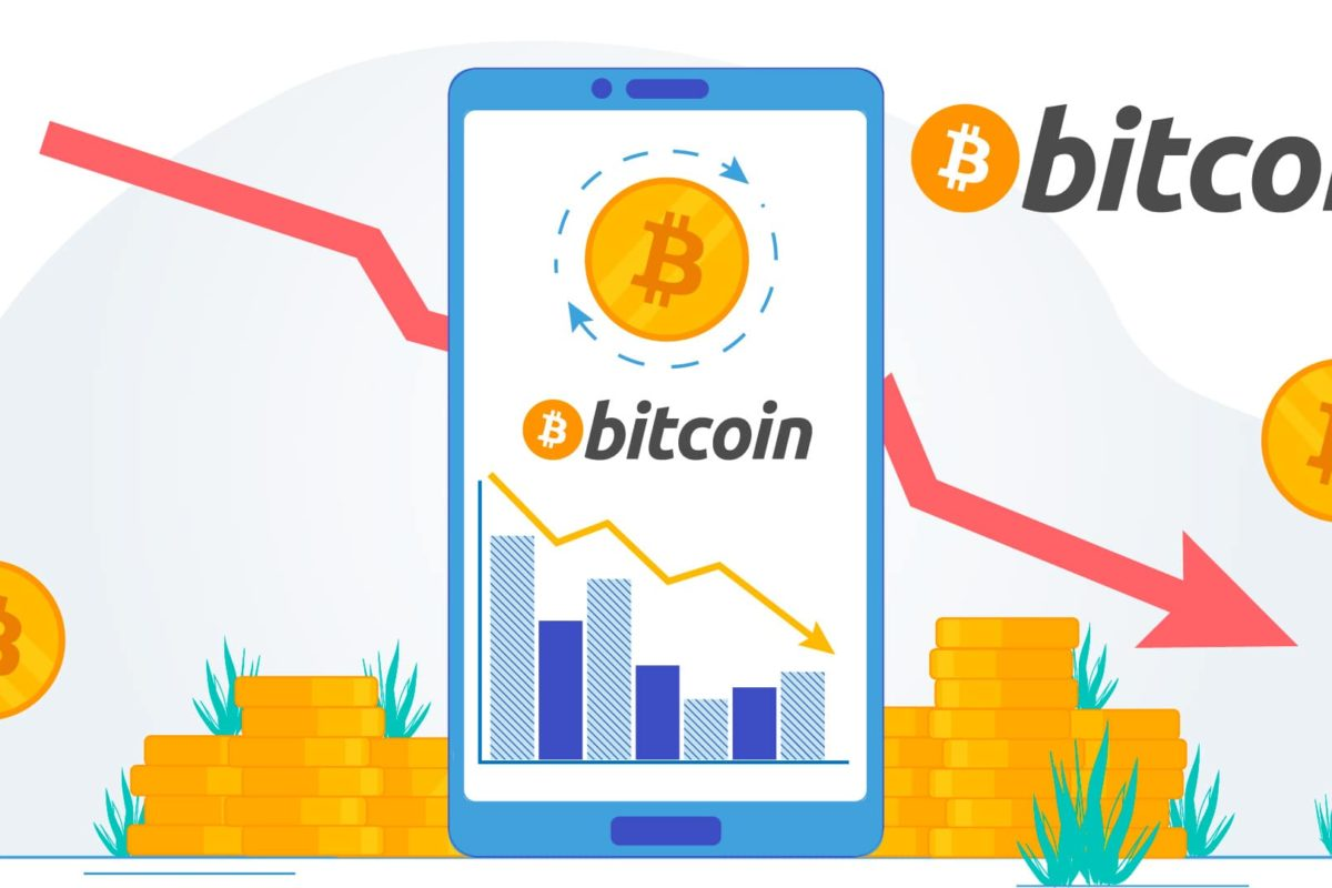 Bitcoin Gets Badly Crashed and Dribbled to $7700