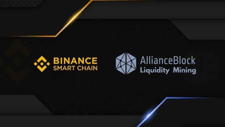 Binance Endorses Liquidity Mining Program with AllianceBlock