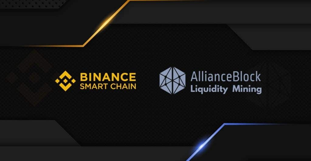 Binance Endorses Liquidity Mining Program with AllianceBlock
