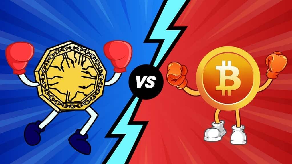 Bitcoin Vs. Blockchain